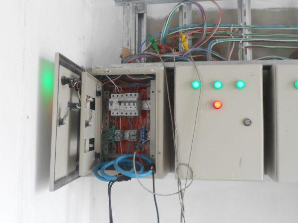 Medición de voltaje y corriente Edif. Marina I